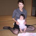 ベビーマッサージ2009-11受講生 ゆあちゃん014