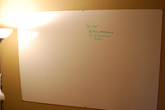 DIY Whiteboard
