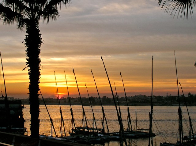 Luxor, Sunset