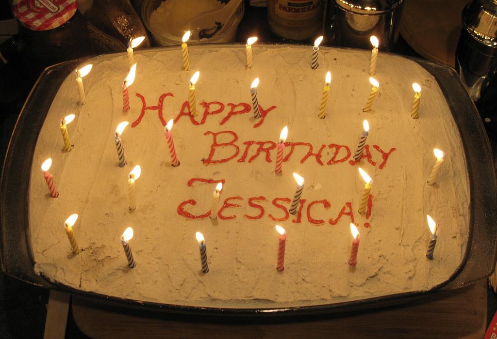 Groovy Happy Birthday Jessica Azyxa Flickr Funny Birthday Cards Online Inifodamsfinfo