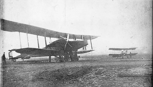 Handley Page and Sopwith Camel Dunkirk Aerodrome 1916/17