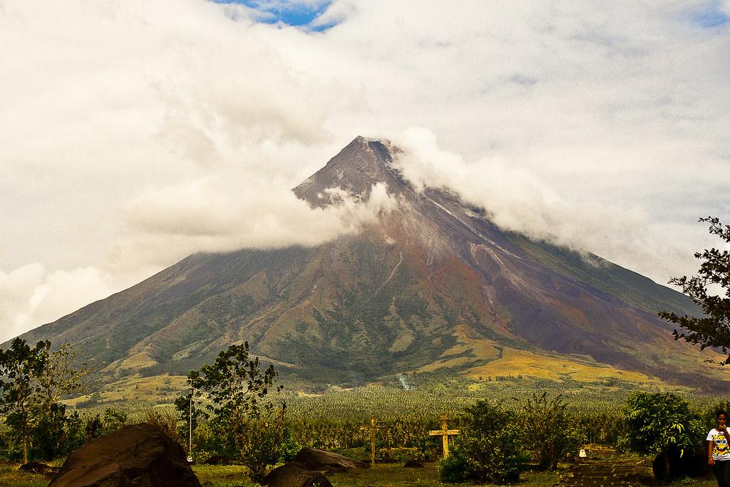 Mayón Volcano, Legazpi, Filipinas