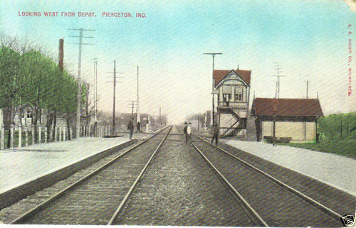railroad piercetonindiana