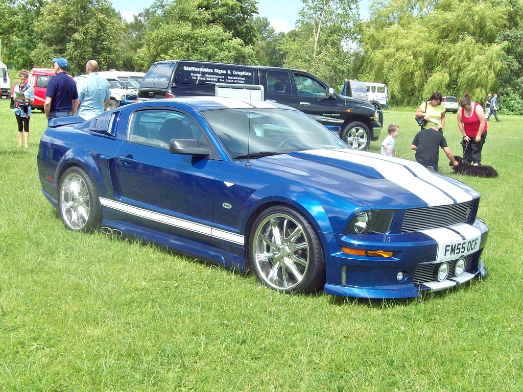 59 Ford Shelby Mustang Gt500 Coupe Eleanor Bodykit 2006