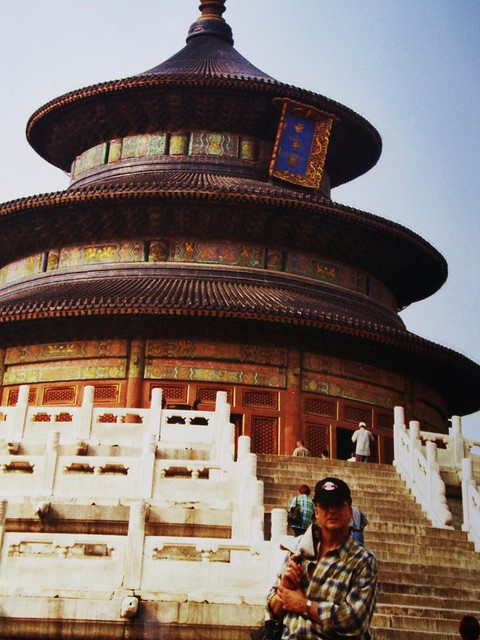 China-Peking - R. vor Himmelstempel