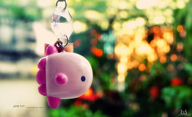 Pink fish :x