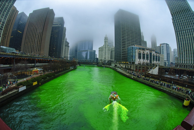 The Greening of the Chicago River 2010 Edition