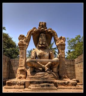 Lakshmi Narasimha Temple, Hampi   by Mukul Banerjee (www.mukulbanerjee.com)