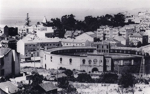 Vista da Praça de Touros de Algés