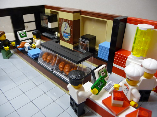 LEGO Airport - Food Court