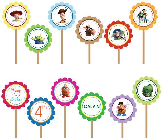 Toy Story Woody Buzz Lightyear- Printable DIY Custom Party