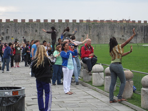 Tourists @ Pisa | by Andrew Childs