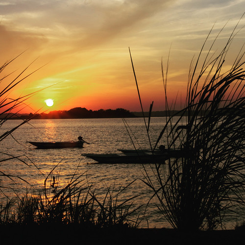 lightroom sunset sunray color boats water agua newjersey wildwoods