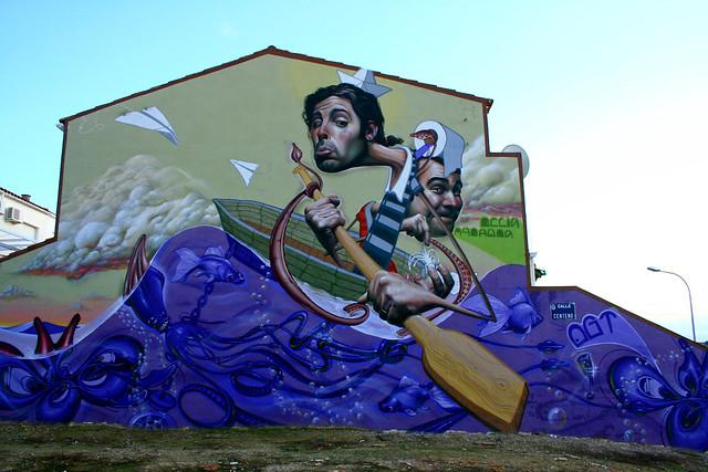 Graffiti Linares - Belin