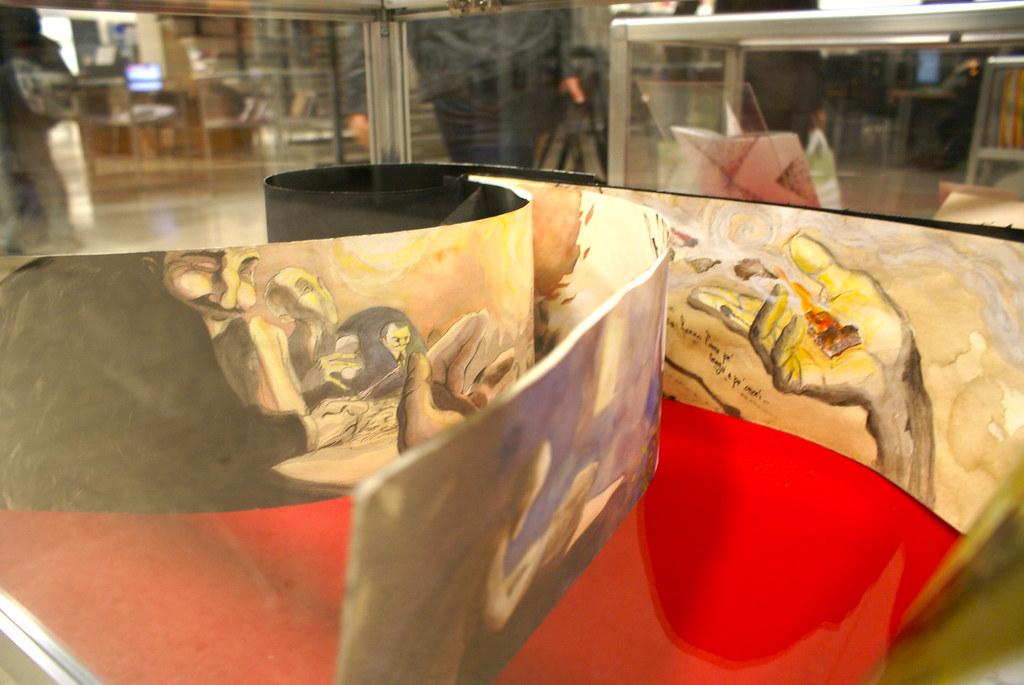 Expo Dessin Livre D Artiste 1 Bibliotheque D Aix Schum
