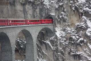 Glacier Express, Zwitserland | by Martha de Jong-Lantink