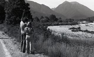 Inangahua College river study, West Coast, New Zealand, 1976