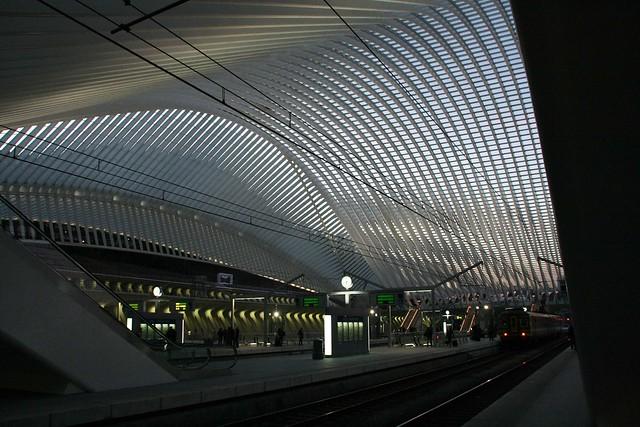 Belgique - Liège - Les Guillemins (gare)