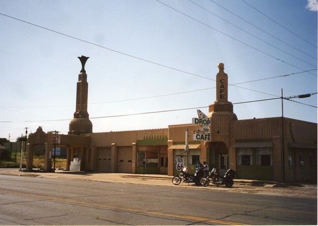 Tower Station: Route 66: Shamrock, Texas