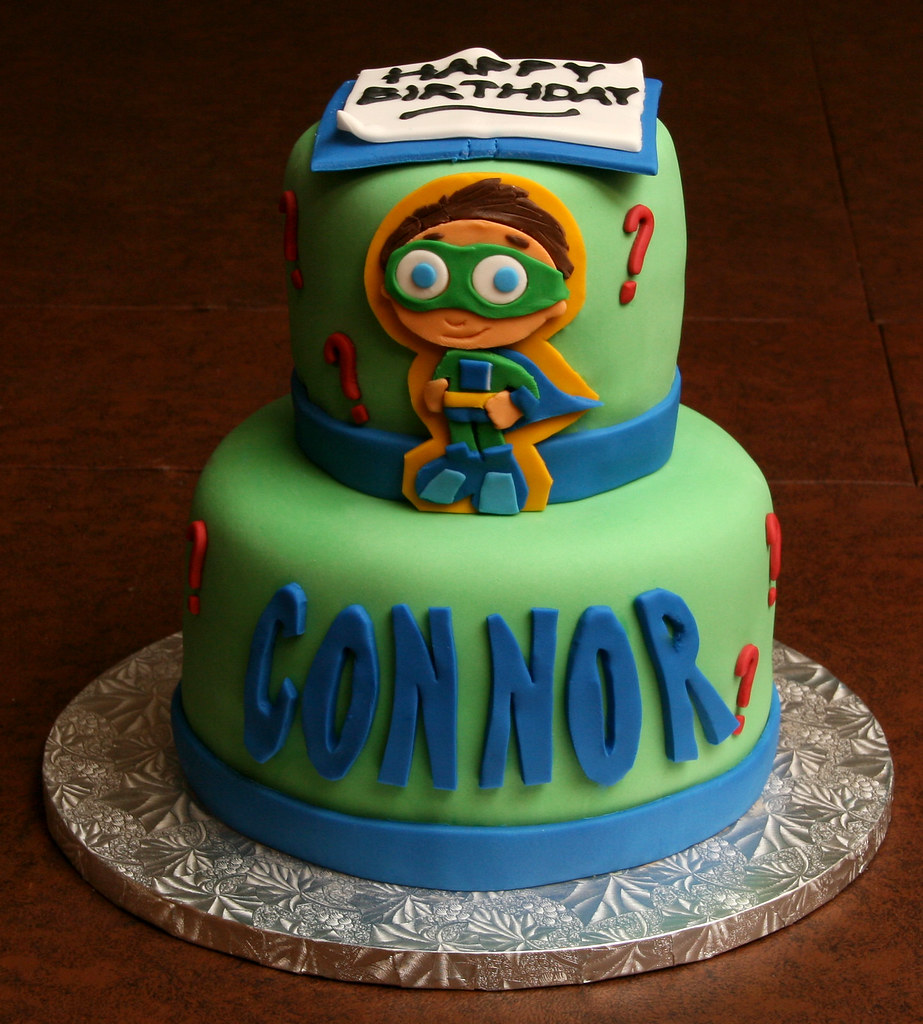 Astounding Super Why Birthday Cake A Photo On Flickriver Funny Birthday Cards Online Elaedamsfinfo