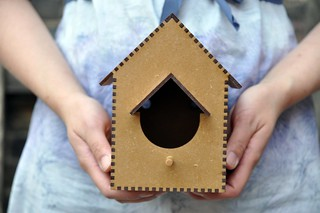 Laser cut birdhouse by Chris | by the workroom