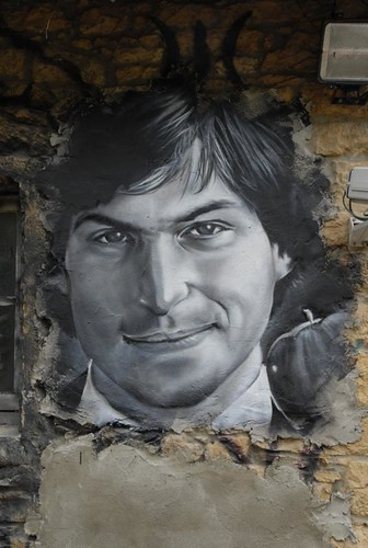 Steve Jobs painted portrait _DDC7954 | by Abode of Chaos