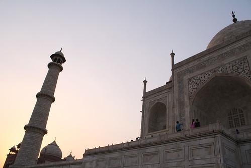 [India] Evening glow of Taj Mahal タージマハル   by kimama_labo