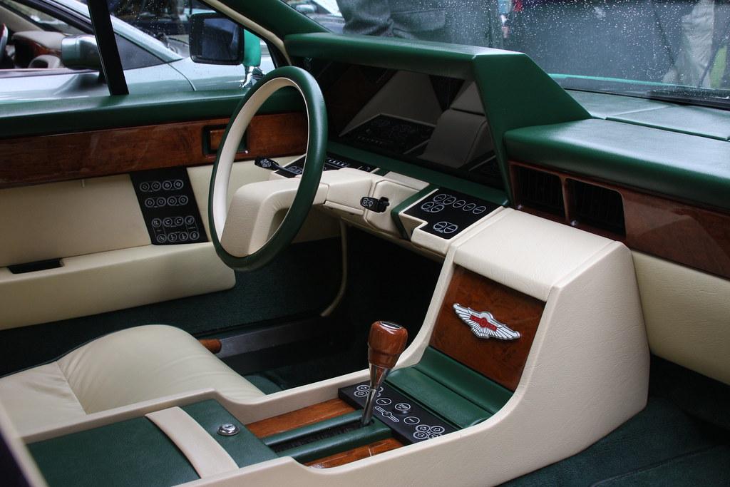 1982 Aston Martin Lagonda Interior Check Out All The Butto Flickr