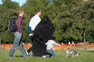Burka at Hyde Park | by mariosp