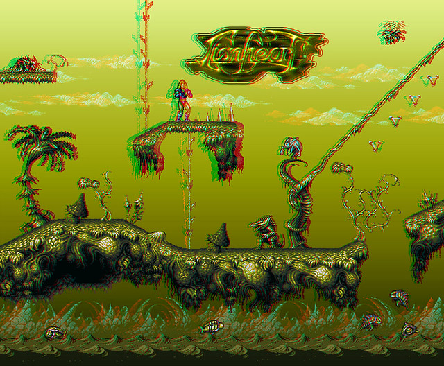Lionheart ::: Amiga Game ::: Anaglyph 3-D