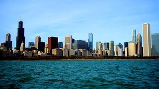 Sunny November in Chicago