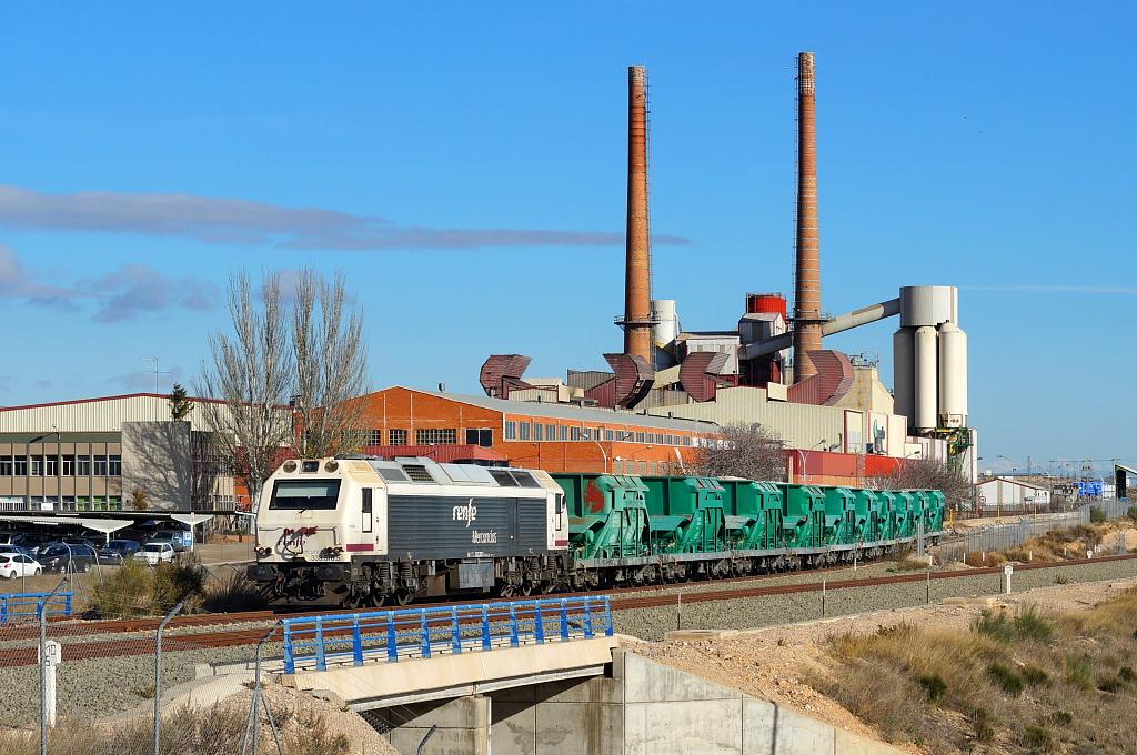 Tren de arena Teruel - Cuarte de Huerva. | Imagen para el re ...