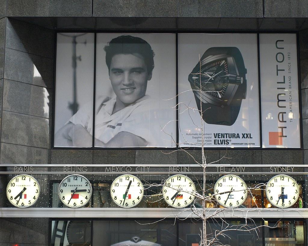 Tourneau TimeMachine, New York City | Hamilton Ventura ELVIS