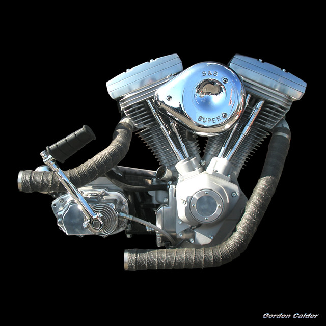 No 71: HARLEY DAVIDSON EVOLUTION (EVO OR BLOCKHEAD) ENGINE