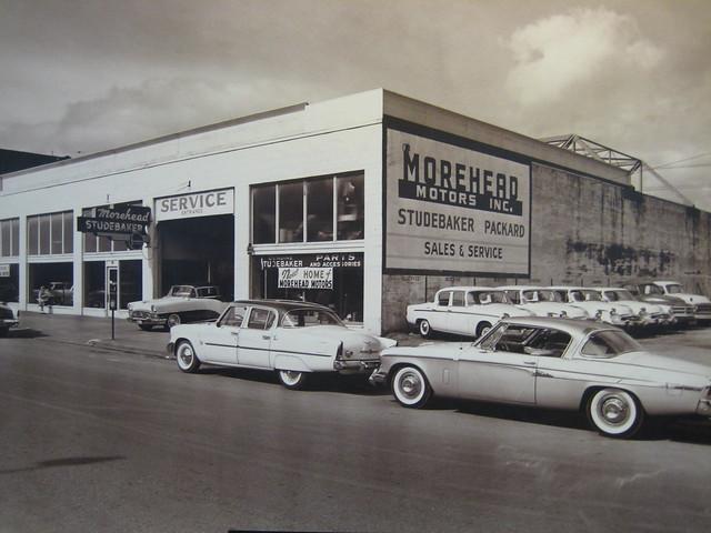 1955, selling Studebaker and Packard in Aberdeen, Washington
