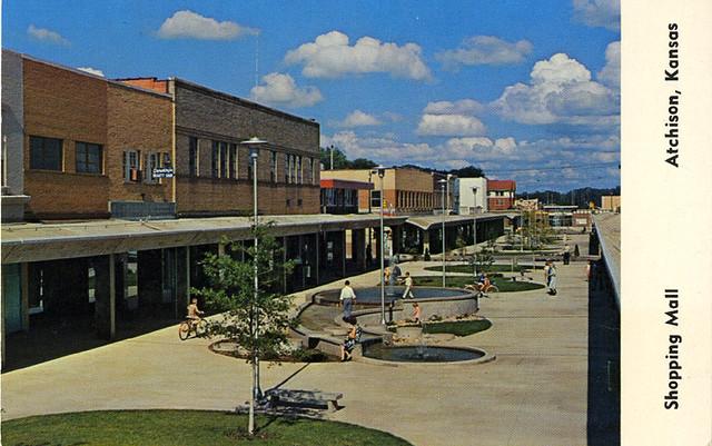 Atchison, KS Pedestrian Mall
