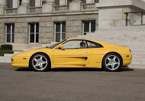 1998 Ferrari F355 Gtb Berlinetta Yellow Side Carpictures Dot Com Flickr