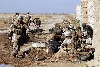 Marines Fight Insurgents, Secure Key Intersection on Road to Marjeh | by DVIDSHUB