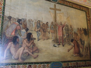 Christopher Columbus mural | by michaelwfreem