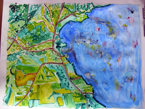 Westport, NY map #1 | by Kathryn Cramer