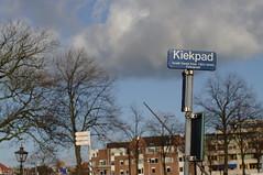 Kiekpad, Leiden