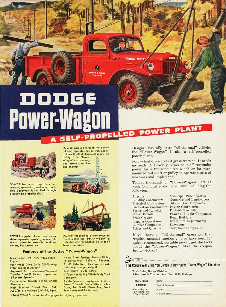 1946 Dodge Power Wagon Alden Jewell Flickr