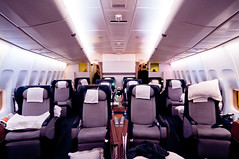 First Class at QF44 Sydney to London | by Satoshi Onoda