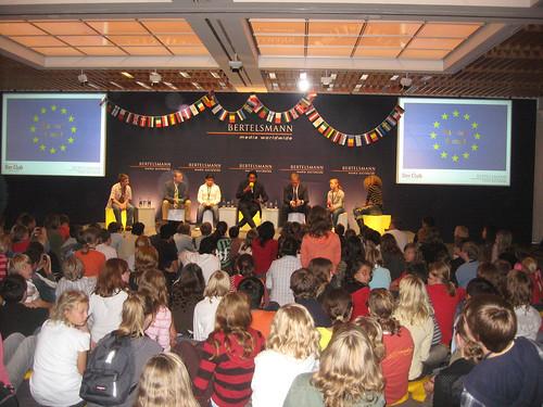 Europas Geburtstags-Party der Bertelsmann Stiftung mit Cherno Jobatey | by Jobatey