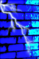Blue lightening bricks | by KiSS_Ze_CHeF