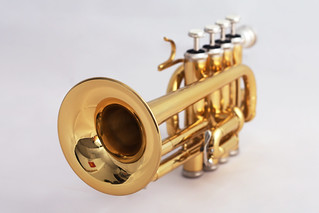 Piccolo trumpet (bell) | by Eusebius@Commons