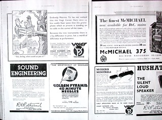 Voigt ADS- The Gramophone, Nov. 1937 & March 1938   by Round Person