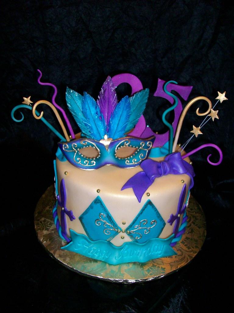 Phenomenal Mardi Gras Birthday Cake Sandra Durbin Flickr Funny Birthday Cards Online Alyptdamsfinfo