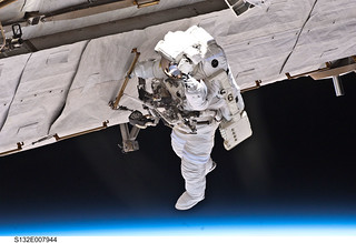 Spacewalking Over Earth (NASA, Space Shuttle, 05/17/10) | by NASA's Marshall Space Flight Center