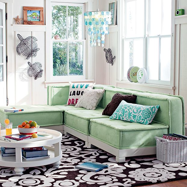 pottery barn teen lounge   from the pottery barn teen websit ...